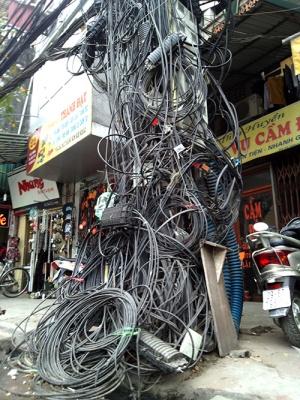 Lằng nhằng dây điện