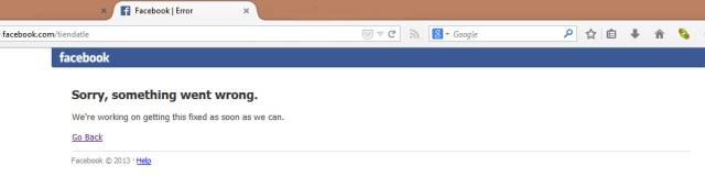 Facebook tạch